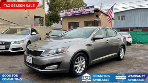 2012 Kia Optima for sale at San Diego Auto Traders in San Diego CA