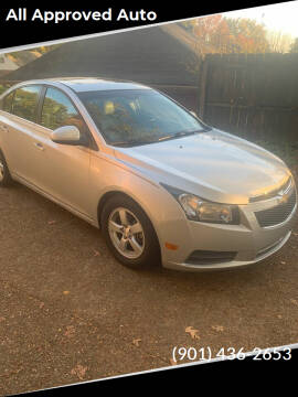 2011 Chevrolet Cruze for sale at All Approved Auto in Memphis TN