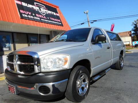 2007 Dodge Ram Pickup 1500 for sale at Super Sports & Imports in Jonesville NC
