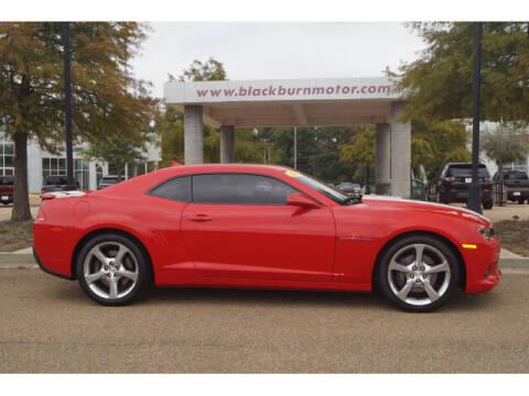 2015 Chevrolet Camaro for sale at BLACKBURN MOTOR CO in Vicksburg MS