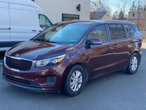 2016 Kia Sedona for sale at MAGIC AUTO SALES in Little Ferry NJ