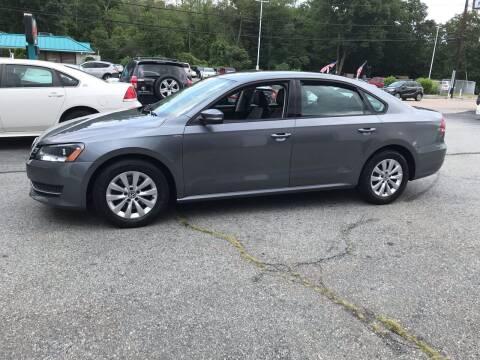 2015 Volkswagen Passat for sale at M G Motors in Johnston RI