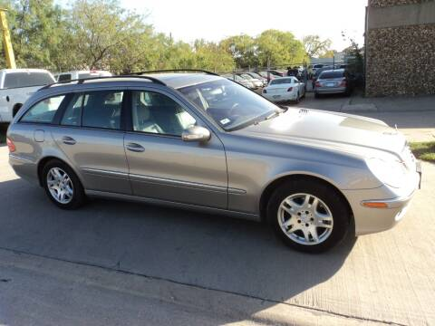 2005 Mercedes-Benz E-Class for sale at SPORT CITY MOTORS in Dallas TX