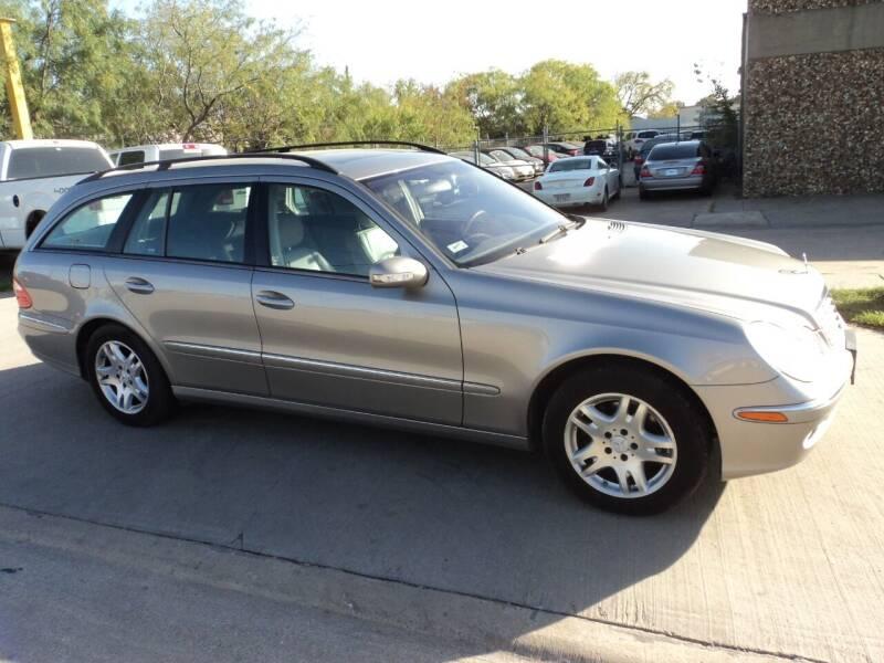 2005 Mercedes-Benz E-Class for sale at SPORT CITY MOTORS in Dallas TX