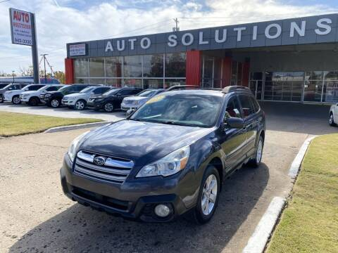 2013 Subaru Outback for sale at Auto Solutions in Warr Acres OK