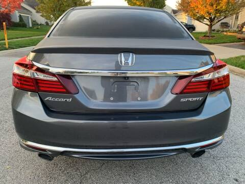 2017 Honda Accord for sale at Via Roma Auto Sales in Columbus OH