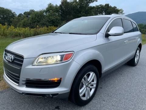2007 Audi Q7 for sale at Autobahn Motors in Boone NC