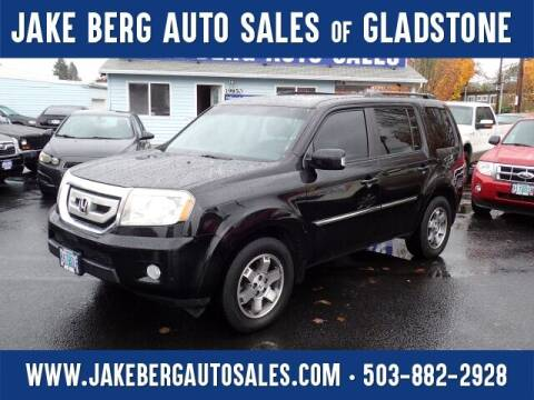2011 Honda Pilot for sale at Jake Berg Auto Sales in Gladstone OR