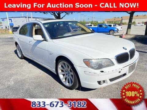 2006 BMW 7 Series for sale at Glenbrook Dodge Chrysler Jeep Ram and Fiat in Fort Wayne IN