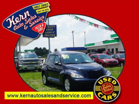 2005 Chrysler PT Cruiser for sale at Kern Auto Sales & Service LLC in Chelsea MI