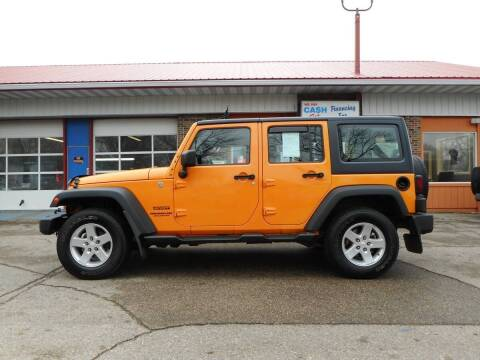 2012 Jeep Wrangler Unlimited for sale at Twin City Motors in Grand Forks ND