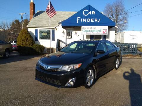 2014 Toyota Camry for sale at CAR FINDERS OF MARYLAND LLC in Eldersburg MD