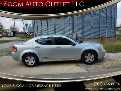 2009 Dodge Avenger for sale at Zoom Auto Outlet LLC in Thorntown IN