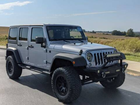 2014 Jeep Wrangler Unlimited for sale at Bob Walters Linton Motors in Linton IN