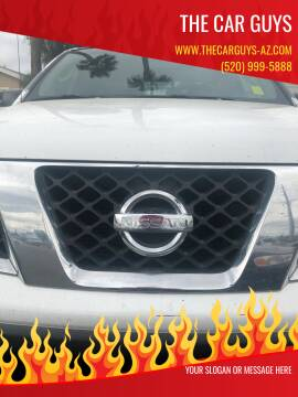 2007 Nissan Frontier for sale at The Car Guys in Tucson AZ