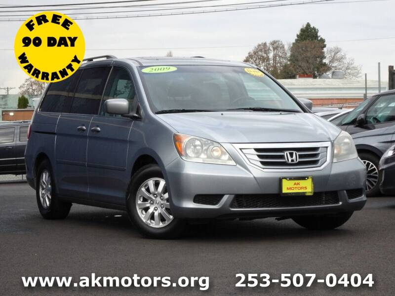 2009 Honda Odyssey for sale at AK Motors in Tacoma WA