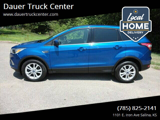 2017 Ford Escape for sale at Dauer Truck Center in Salina KS