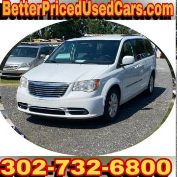 2014 Chrysler Town and Country for sale at Better Priced Used Cars in Frankford DE