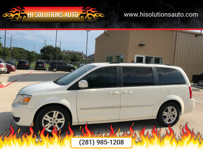 2010 Dodge Grand Caravan for sale at HI SOLUTIONS AUTO in Houston TX