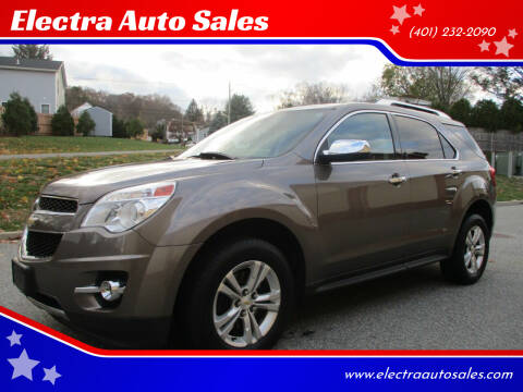 2012 Chevrolet Equinox for sale at Electra Auto Sales in Johnston RI