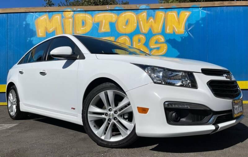 2015 Chevrolet Cruze for sale at Midtown Motors in San Jose CA