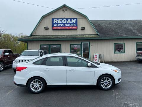 2016 Ford Focus for sale at Mark Regan Auto Sales in Oswego NY