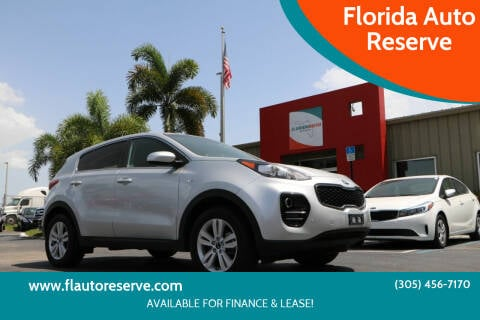 2018 Kia Sportage for sale at Florida Auto Reserve in Medley FL