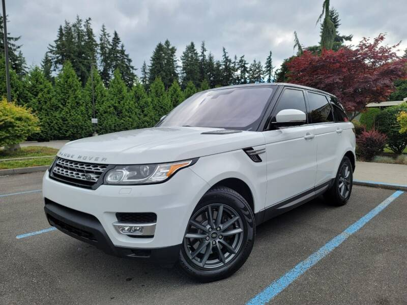 2016 Land Rover Range Rover Sport for sale at Silver Star Auto in Lynnwood WA