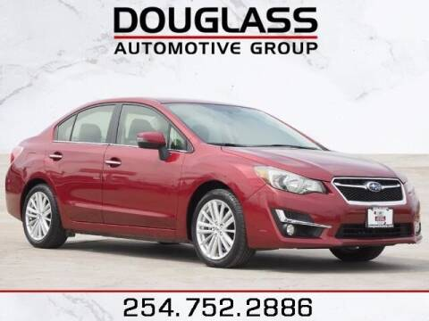 2016 Subaru Impreza for sale at Douglass Automotive Group - Douglas Subaru in Waco TX