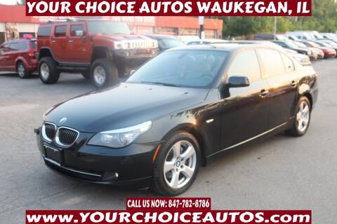 2008 BMW 5 Series for sale at Your Choice Autos - Waukegan in Waukegan IL