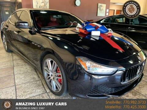 2014 Maserati Ghibli for sale at Amazing Luxury Cars in Snellville GA