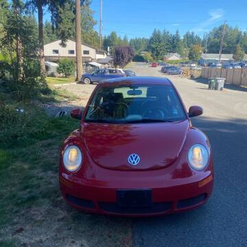 2010 Volkswagen New Beetle for sale at Road Star Auto Sales in Puyallup WA