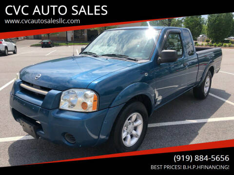 2004 Nissan Frontier for sale at CVC AUTO SALES in Durham NC