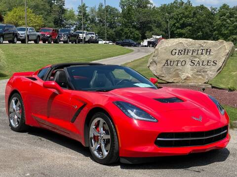 2014 Chevrolet Corvette for sale at Griffith Auto Sales in Home PA