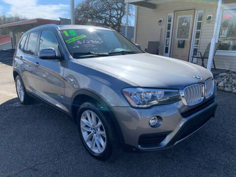 2015 BMW X3 for sale at G & G Auto Sales in Steubenville OH