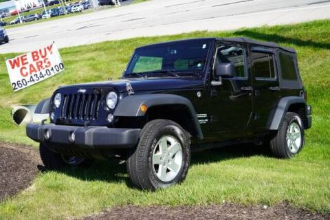 2016 Jeep Wrangler Unlimited for sale at Preferred Auto Fort Wayne in Fort Wayne IN