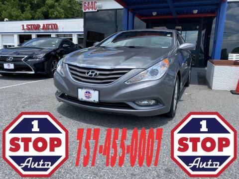 2013 Hyundai Sonata for sale at 1 Stop Auto in Norfolk VA