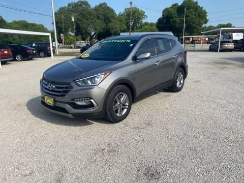 2017 Hyundai Santa Fe Sport for sale at Bostick's Auto & Truck Sales LLC in Brownwood TX