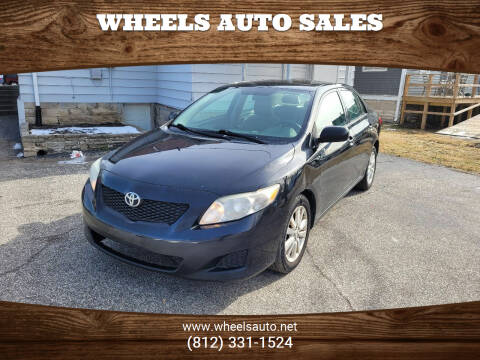 2009 Toyota Corolla for sale at Wheels Auto Sales in Bloomington IN