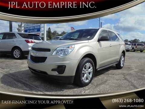 2015 Chevrolet Equinox for sale at JPL AUTO EMPIRE INC. in Auburndale FL