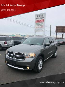 2012 Dodge Durango for sale at US 24 Auto Group in Redford MI
