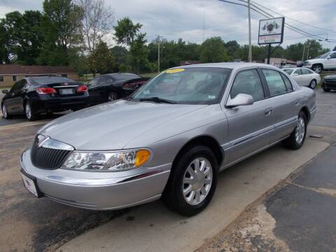 2001 Lincoln Continental for sale at High Country Motors in Mountain Home AR