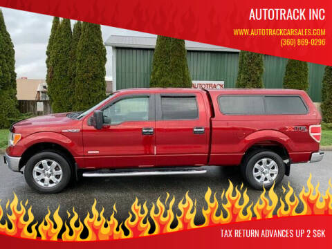 2014 Ford F-150 for sale at AUTOTRACK INC in Mount Vernon WA