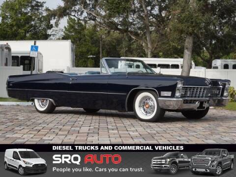 1967 Cadillac DeVille for sale at SRQ Auto LLC in Bradenton FL