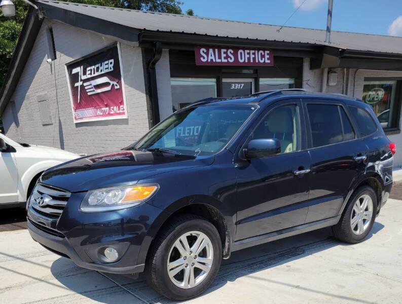 2012 Hyundai Santa Fe for sale at Fletcher Auto Sales in Augusta GA