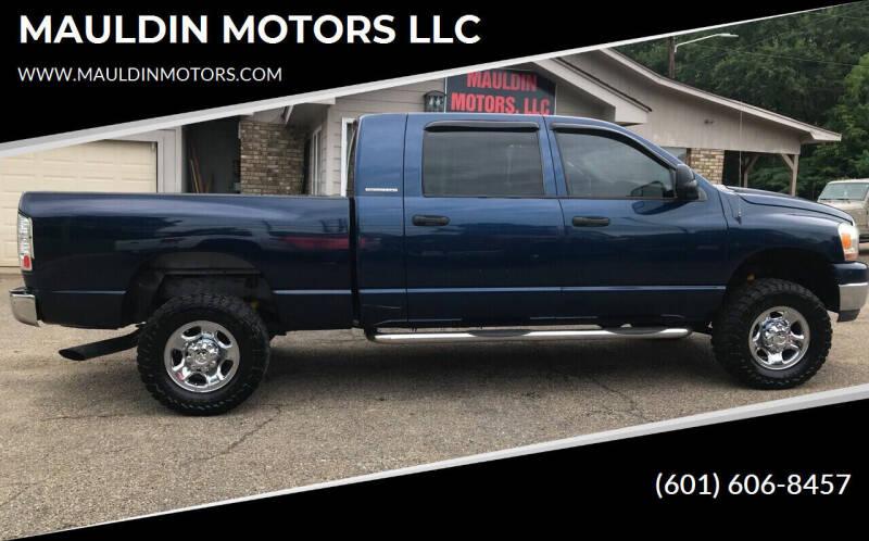 2006 Dodge Ram Pickup 2500 for sale at MAULDIN MOTORS LLC in Sumrall MS