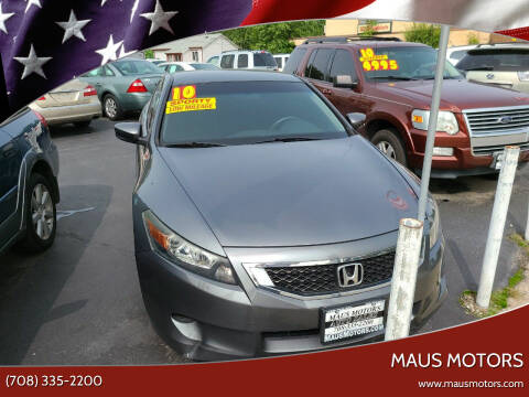 2010 Honda Accord for sale at MAUS MOTORS in Hazel Crest IL