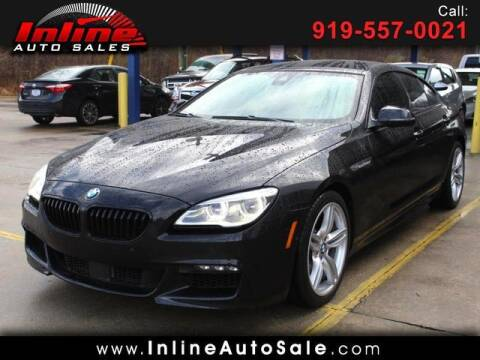 2017 BMW 6 Series for sale at Inline Auto Sales in Fuquay Varina NC