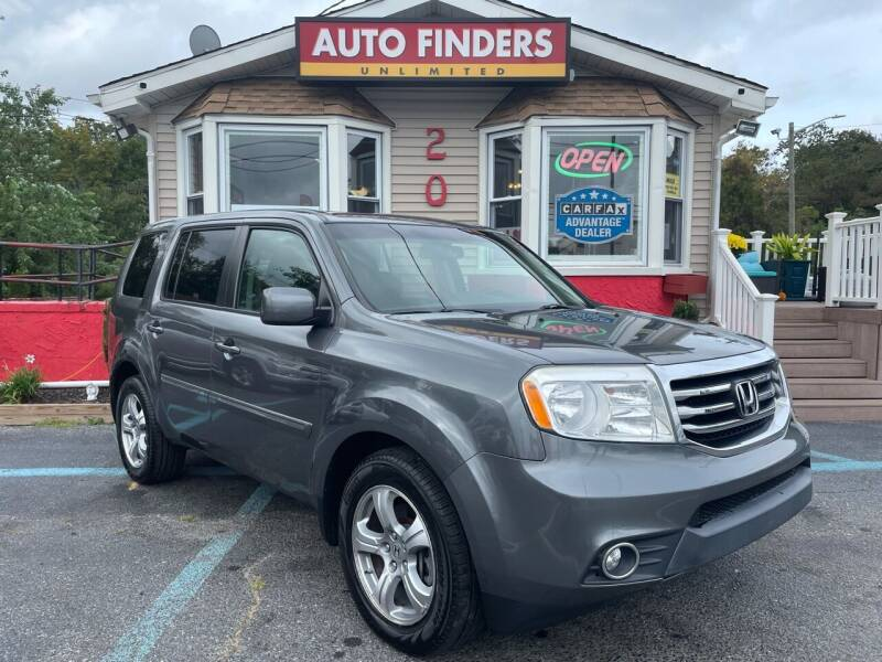 2013 Honda Pilot for sale at Auto Finders Unlimited LLC in Vineland NJ