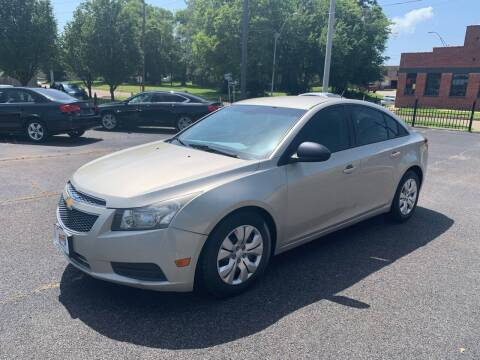 2014 Chevrolet Cruze for sale at Brannon Motors Inc in Marshall TX